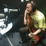 Dane Rippee performing in the KPCRadio.com studios
