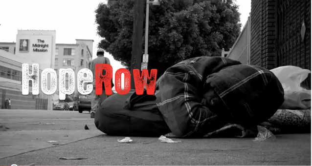 WATCH: hope row announcement – clothing drive