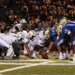 The Canoga Park  Hunters prepare for one of the most jaw dropping plays against the El Camino Conquistadors.