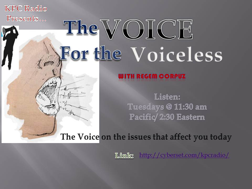 Listen: Voice for the Voiceless – Domestic Workers and The Filipino-American Community