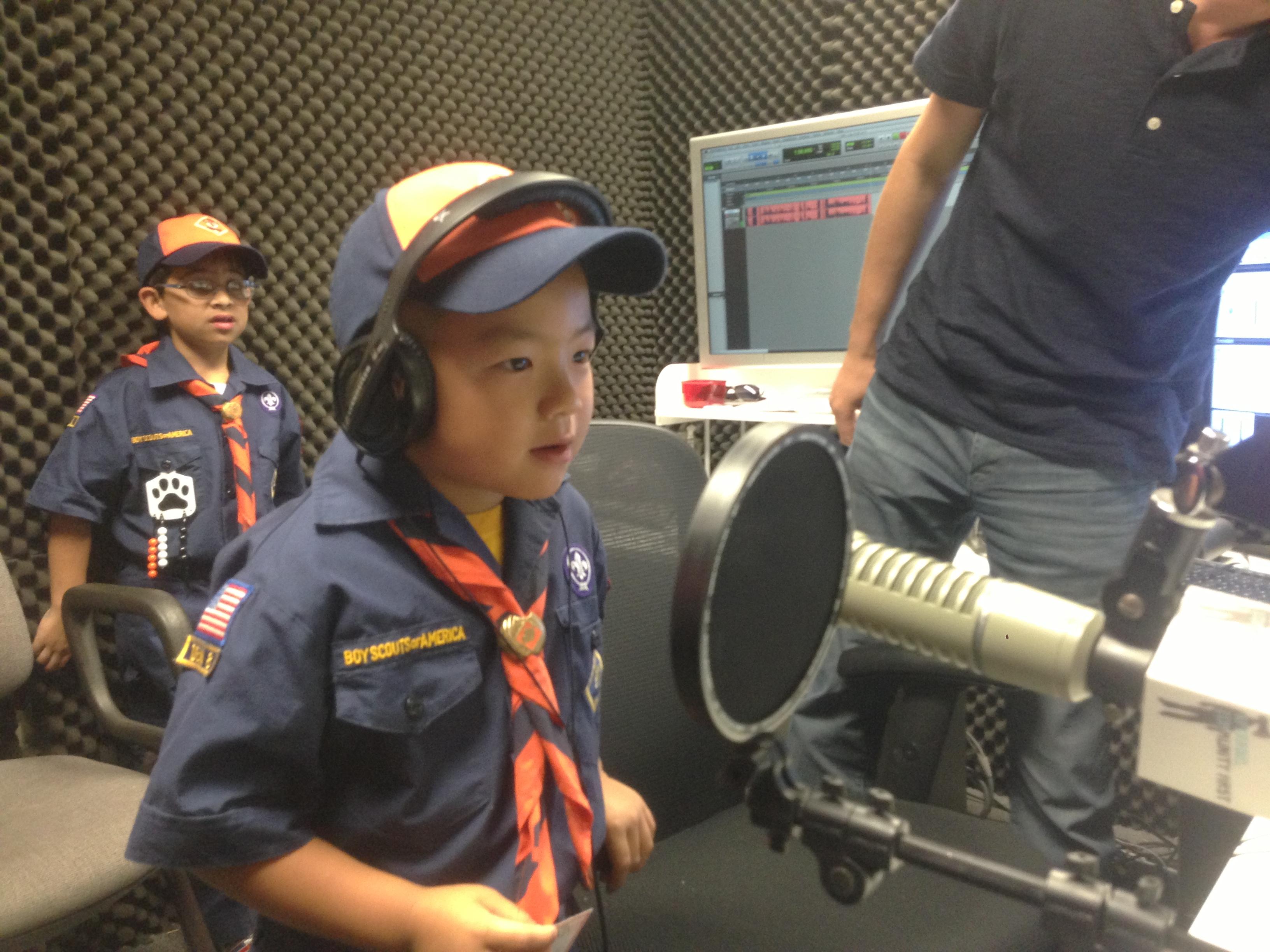 Cub Scouts Visit KPCRadio.com – 4.29.19