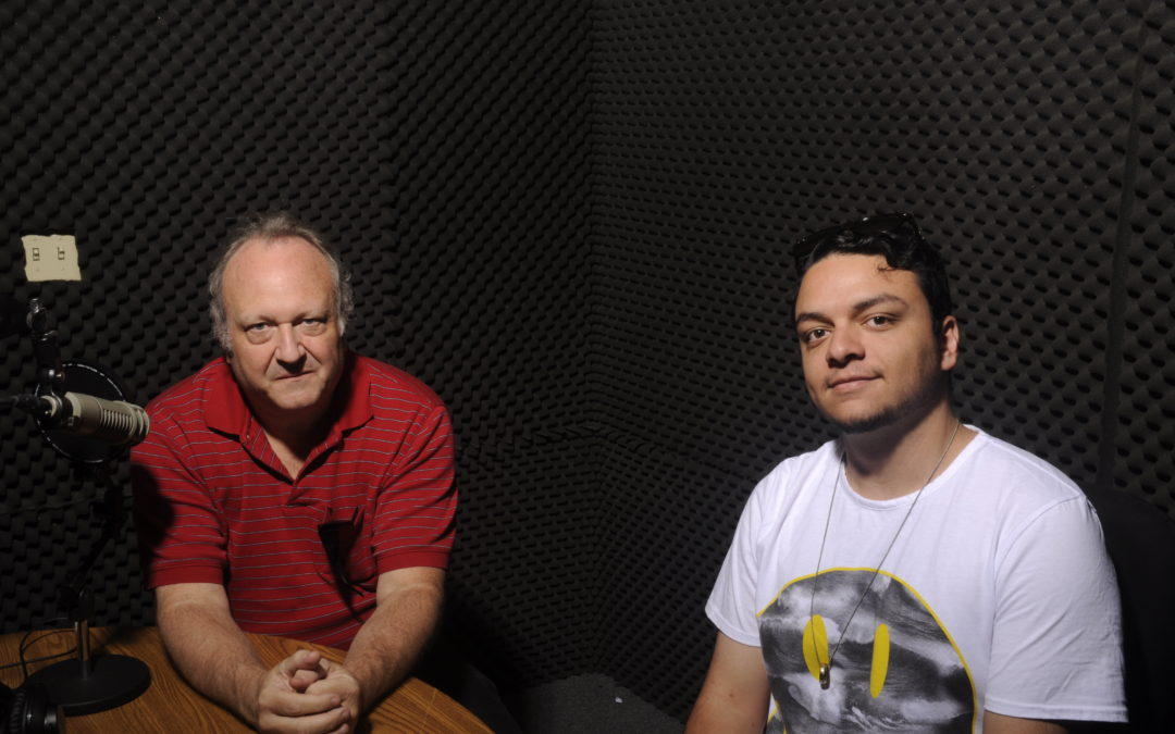 Pierce College Daily News Hour: Daniel is totally in the booth